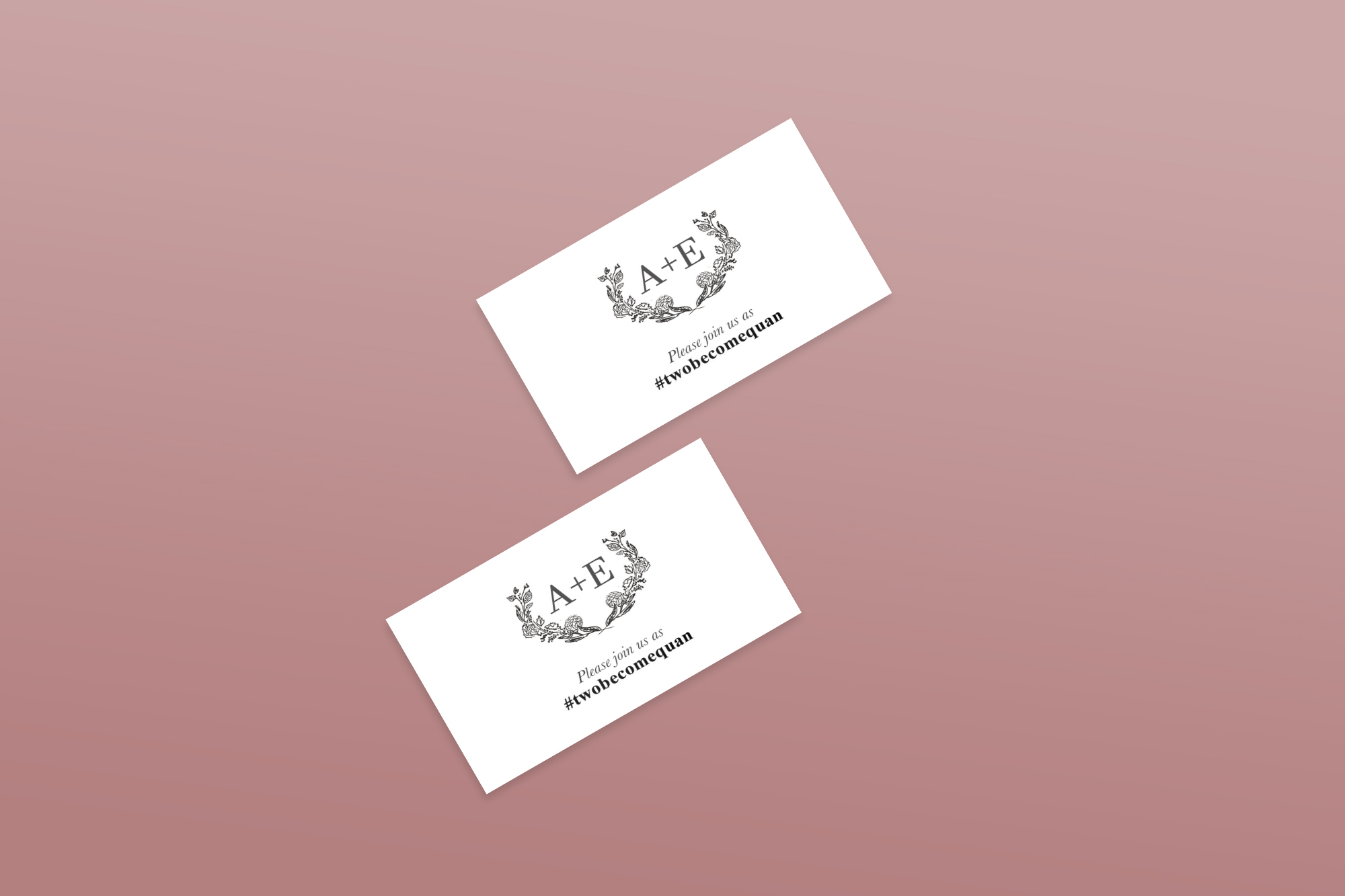 Alex Ethan Wedding Placement Cards