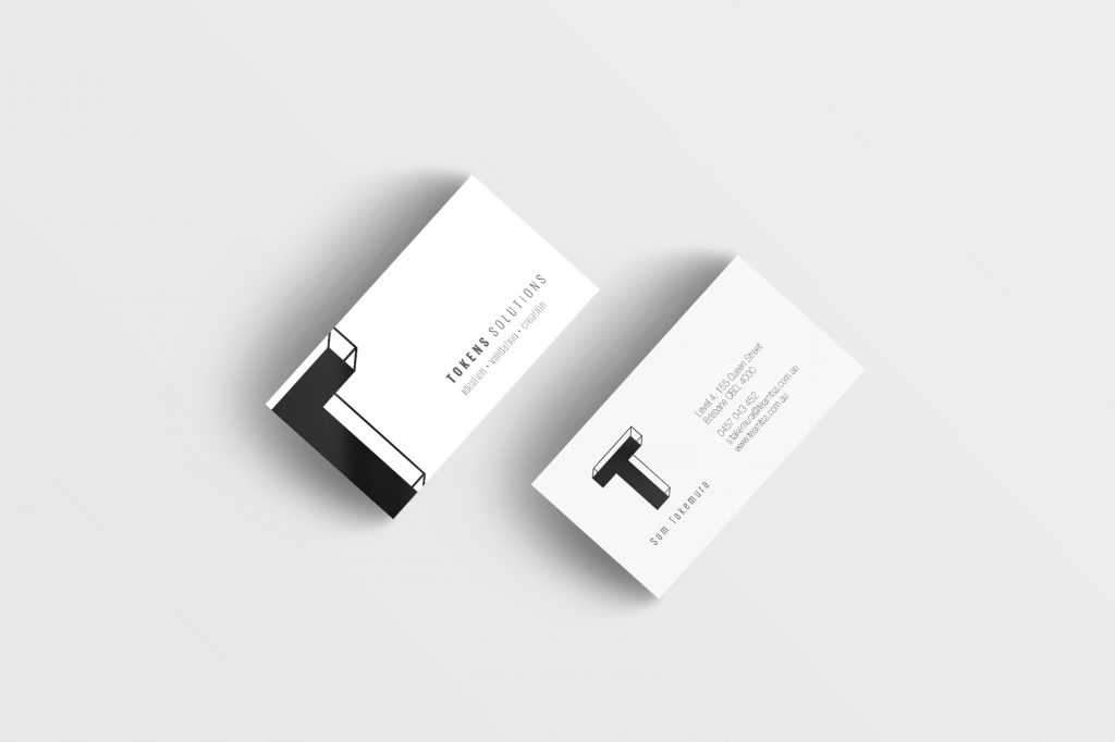 Tokens Solutions Business Card