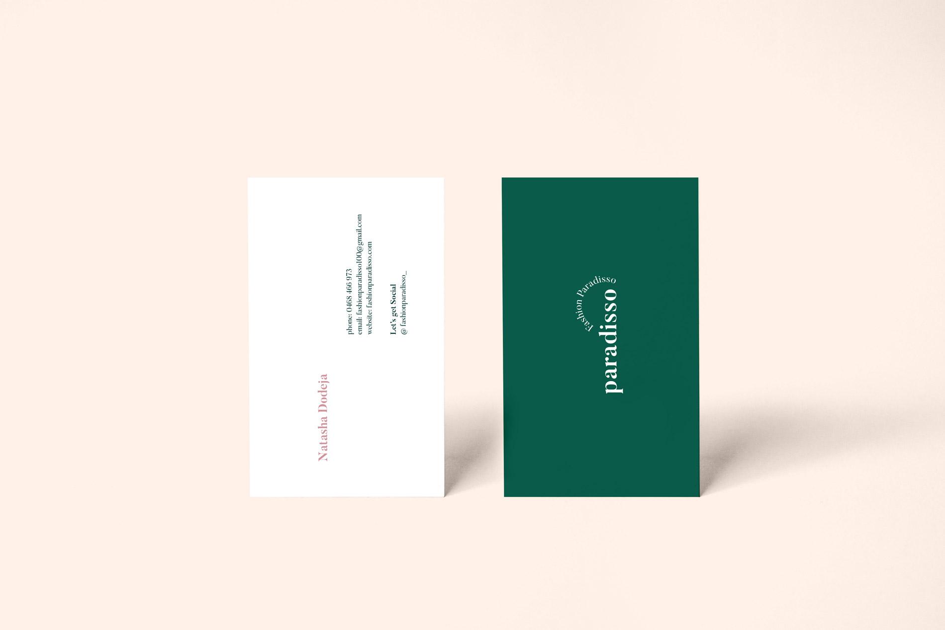Fashion Paradisso - Business Card
