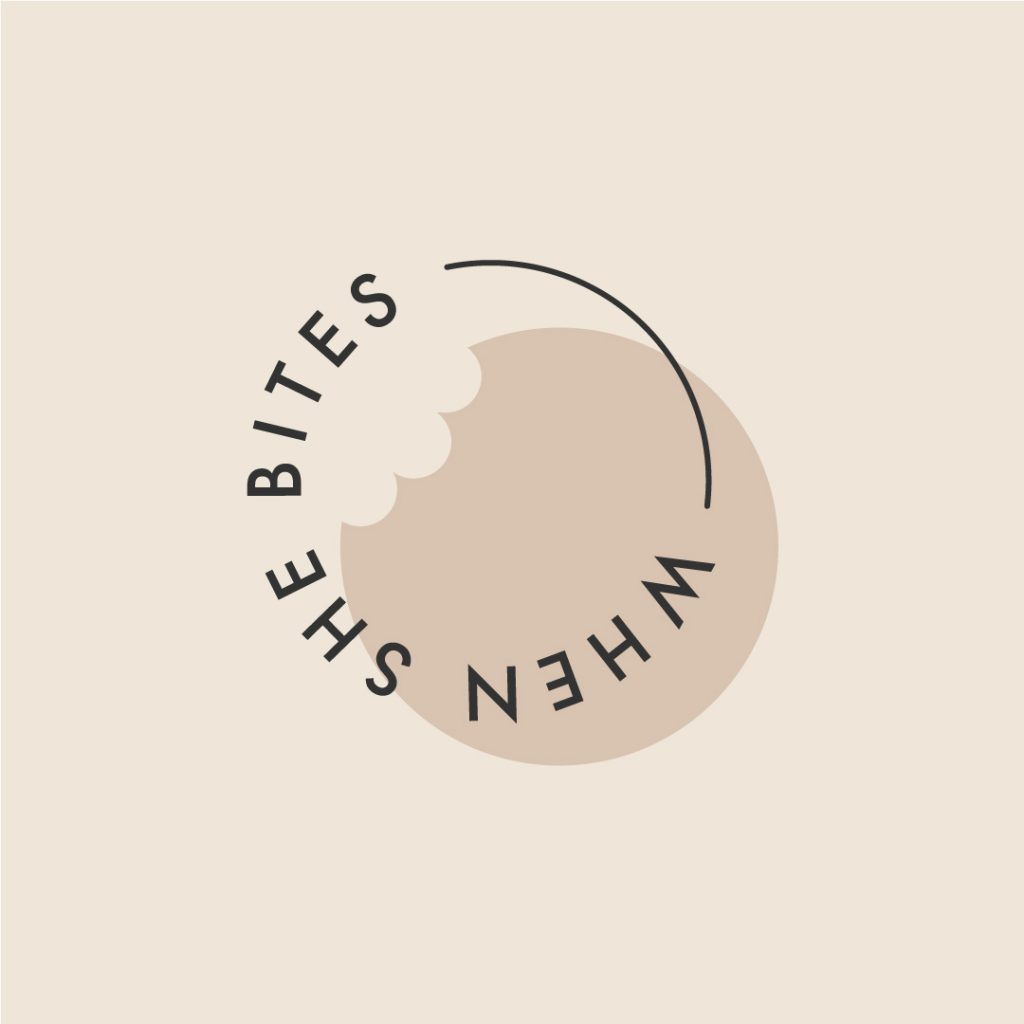 When She Bites Logo Design