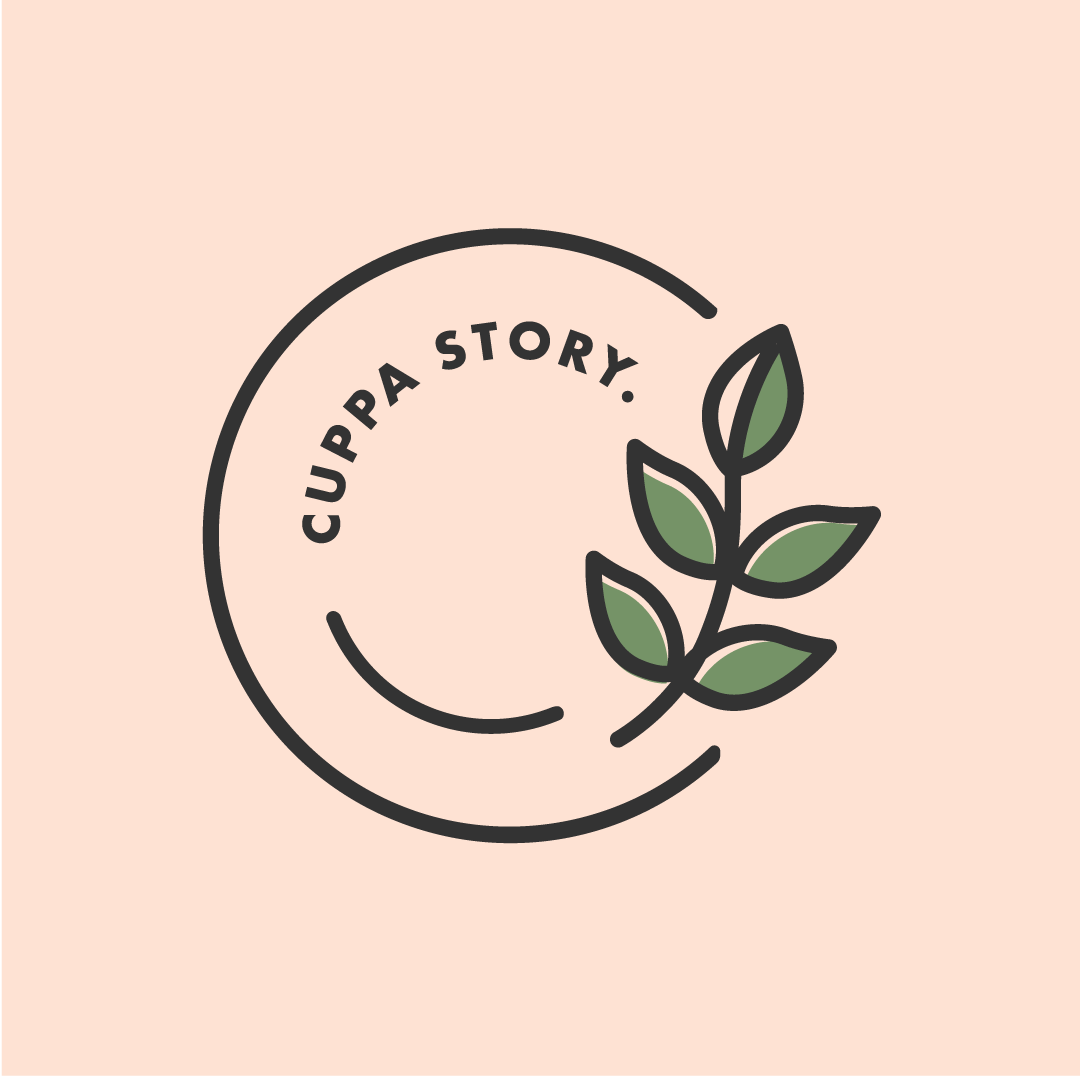 your cuppa story logo design